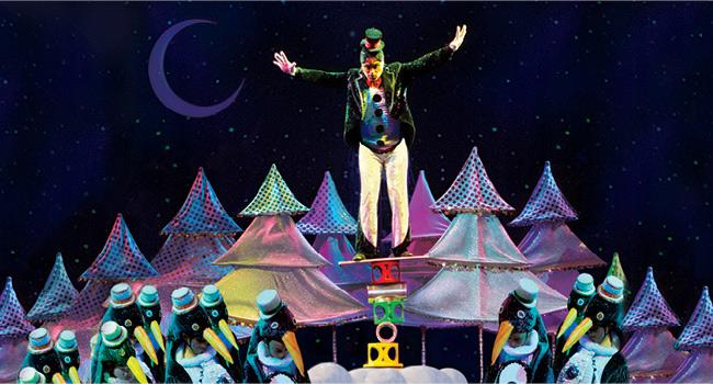 Cirque Dreams Holidaze Stage Show