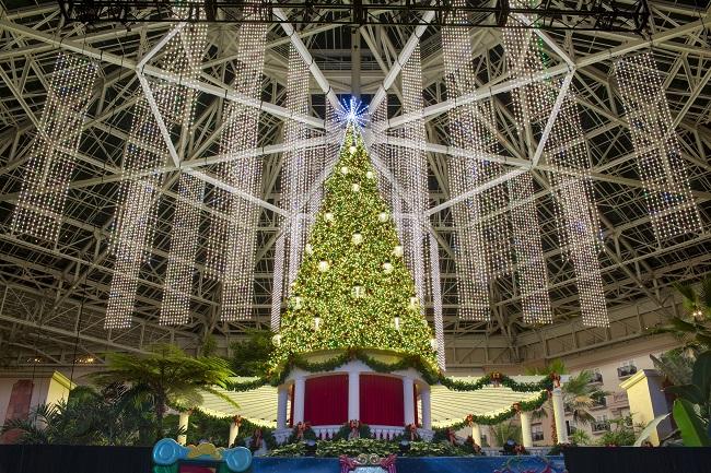 Dazzling Atrium Decor